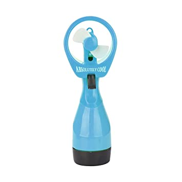 yjydada nuevo ventilador refrigeración agua fría Spray de mano portátil portátil con vaporizador vapor viaje playa: Amazon.es: Hogar