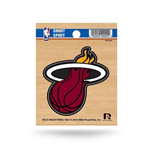 Nba Basketball Car Decal (NBA Miami Heat Short Sport Decal)