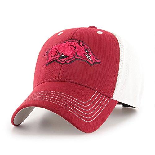 OTS NCAA Arkansas Razorbacks Sling All-Star MVP Adjustable Hat, Cardinal, One Size - Arkansas Razorbacks Gear