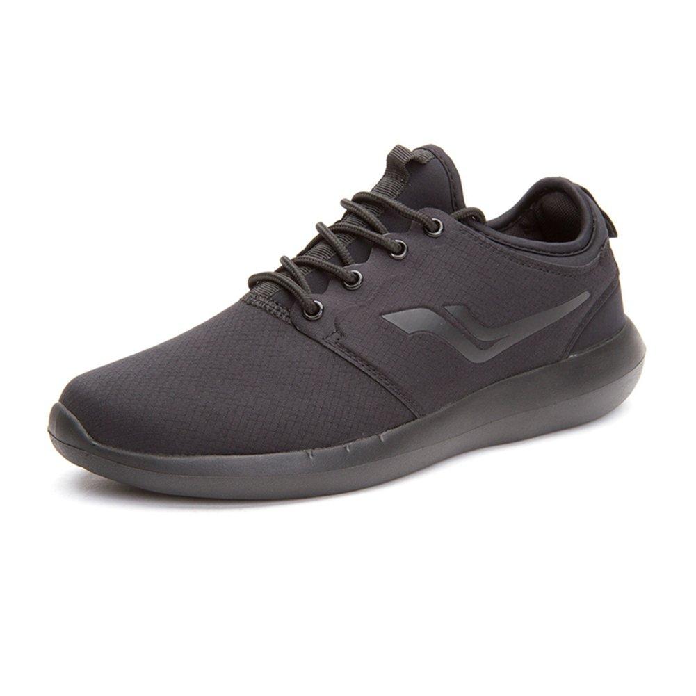 YIXINY Deporte Zapato H30M7310 Calzado Deportivo Al Aire Libre Zapatos Planos Cabeza Redonda Zapatos Con Cordones Zapatos Casuales Ligero Y Cómodo Negro, 5 Tamaño Opcional ( Tamaño : EU41/UK7.5-8/CN42 ) EU41/UK7.5-8/CN42