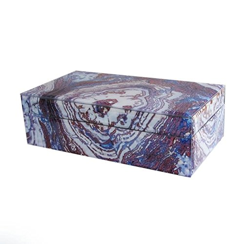 American Atelier 1280028 Agate Jewelry Box