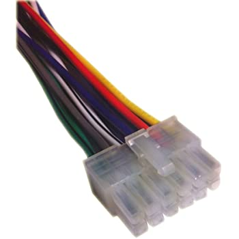51EQDmRPaHL._AC_SS350_ amazon com pioneer wiring harness car stereo 12 pin 2x6 connector