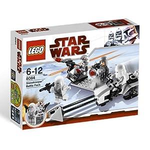 LEGO Star Wars Snow Trooper Battle Pack (8084) - 51EQDnJWt6L - LEGO Star Wars Snow Trooper Battle Pack (8084)