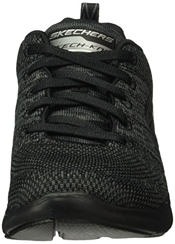 Skechers Sport Dames Flex Appeal 2.0 Sneaker Zwart Houtskool