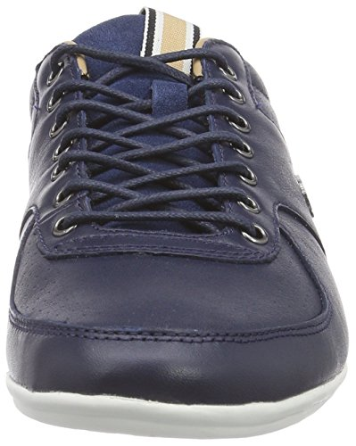 Lacoste TALOIRE 17 - zapatilla deportiva de cuero hombre azul - Blau (NVY 003)