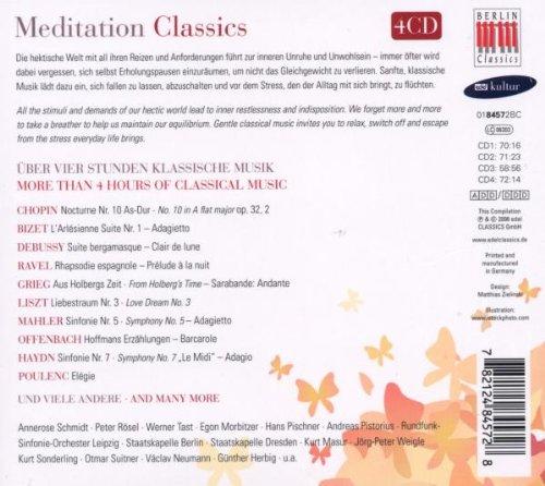 Meditation Classics / Various by Berlin Classics