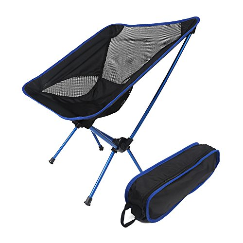 D&L Folding Camping Backpacking Chairs with Car...
