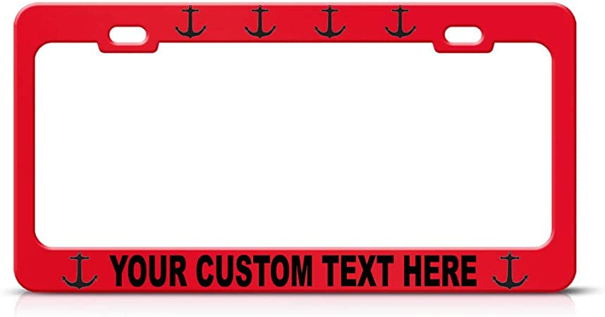 I LOVE HEART GUATEMALA Chrome Heavy Duty Metal License Plate Frame Tag