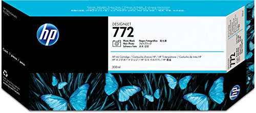 - HP 772 (CN633A) Photo Black Designjet Original Ink Cartridge