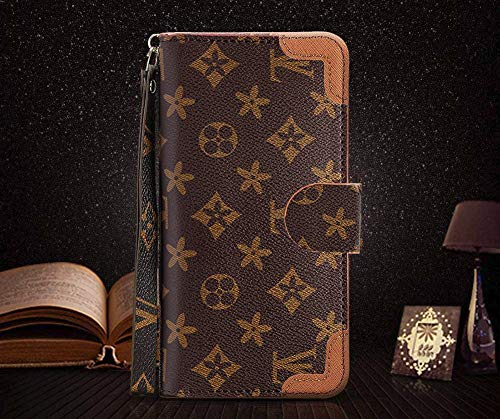 iPhone Xs Max Case - New Elegant Luxury PU Leather Wallet Style Cover Case Compatible with iPhone Xs Ma