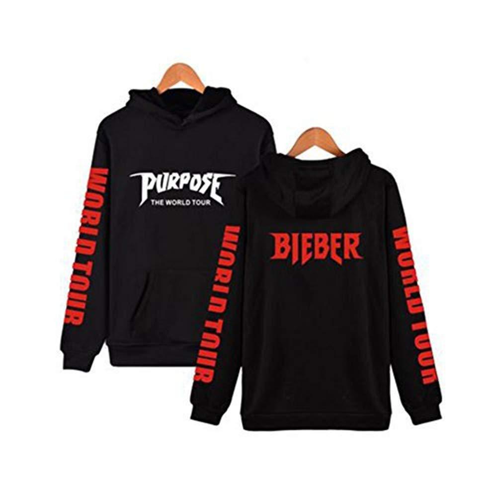 Discovery Unisex Fan Hoodie Super Rare Bieber Purpose Tour Pullover Hoodies