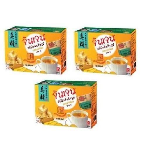 Gingen Instant Ginger Beverage 288g(16 Sachets)x3 Packs by  (Image #1)