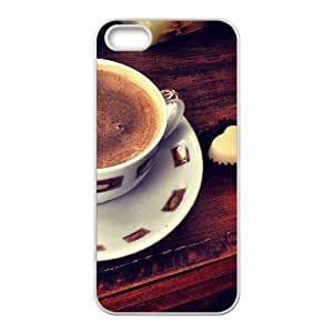 Afternoon Coffee iphone 6 4.7 Cases, Hipster Design Case for iphone 6 4.7 for Men fashion case {White}