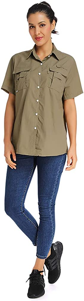 Jessie Kidden Mens Uv Sun Protection Shirt Safari Hiking Fishing Camping Shorts Sleeve Quick Dry