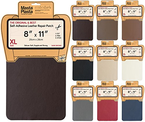 mastaplasta-leather-repair-patch-first-aid-for-sofas-car-seats-handbags-jackets-plain-8-inch-by-11-i