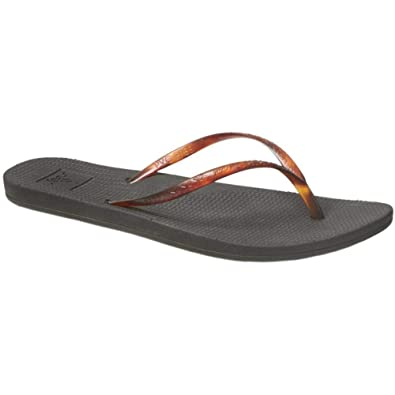 62275bc62569 Reef Womens Escape Lux Tortoise Flip Flops Black Tortoise   UK3 (5 D US