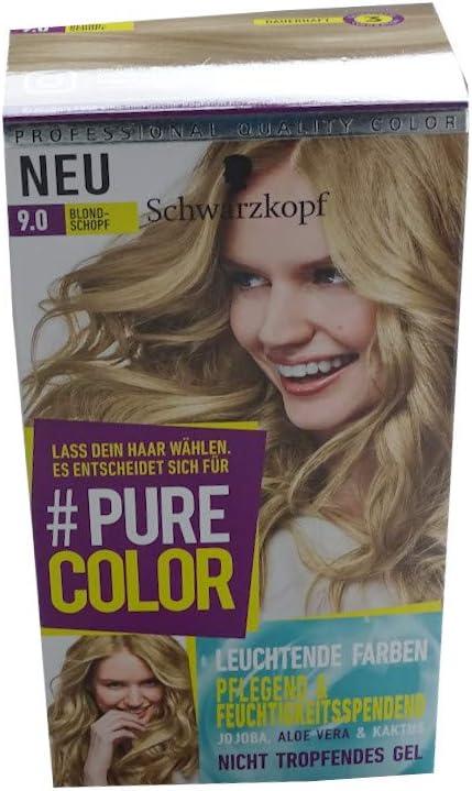 Schwarzkopf Pure Color 9.0 - Cabezal rubio: Amazon.es: Belleza