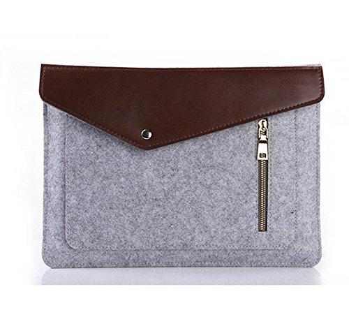 Jlyifan Needle Felt Busniess Back to School Laptop Sleeve bag Breifcase Cover for Lenovo Flex 3 / Yoga 3 (11 inch) / ThinkPad Yoga 12 / 11e 11.6 / X250 12.5 / Ideapad 100S 11.6-inch