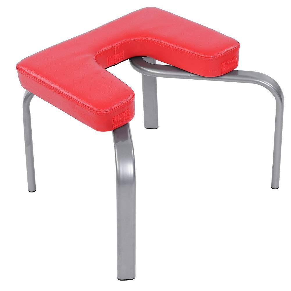 Alivia Fatiga y Construir Cuerpo de Color Rojo GOTOTOP Silla de Yoga Bodylift reposacabezas Banco de inversi/ón reposacabezas Fitness Kit Stool Prop
