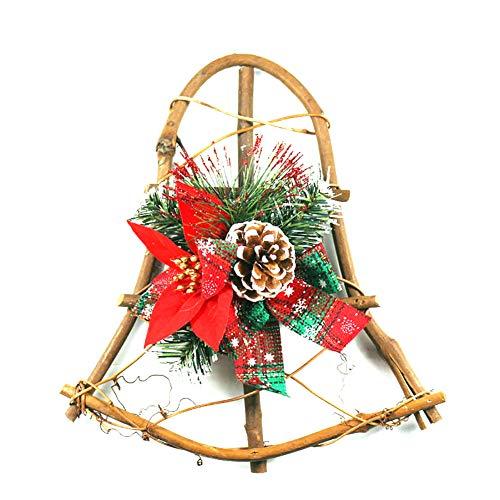 Pinecone Rattan Window Christmas Party Window Pendant Creative Gift Decorations