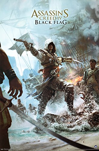 Key Art Poster 22 x 34in Assasins Creed Unity