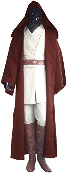shoperama Deluxe Star Wars Hombre Disfraz OBI-WAN Kenobi Juego ...
