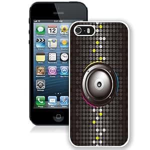 NEW Unique Custom Designed iPhone 5S Phone Case With Minimal Speaker Black Pink Blue_White Phone Case wangjiang maoyi by lolosakes