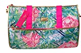 LILLY PULITZER Convertible Weekender Garment Bag Carry On Duffel Multi Bohemian Queen