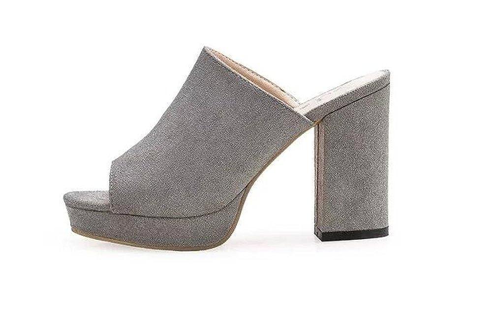 ed680ff48 YUBUKE Womens Studded High High High Heels Closed Pointy Toe Stiletto  Evening Pumps Shoes Sandals 35 4.5 B(M) US Women