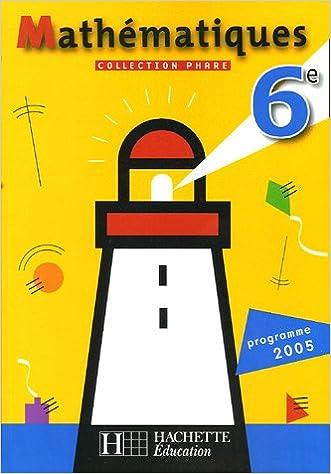 Mathematiques: Programme 2005