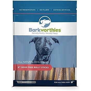 Amazon Com Barkworthies Premium Dog Treats Odor Free