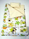 SoHo Kids Collection, Classic Sleeping Bag (Sleepy Jungle Animal)