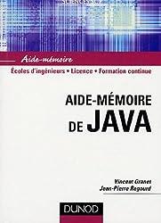 Aide-mémoire de Java
