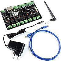 USR USR-WIFIIO-88 Smart WIFI Relay- 8 output and 8 input with RJ45 Port
