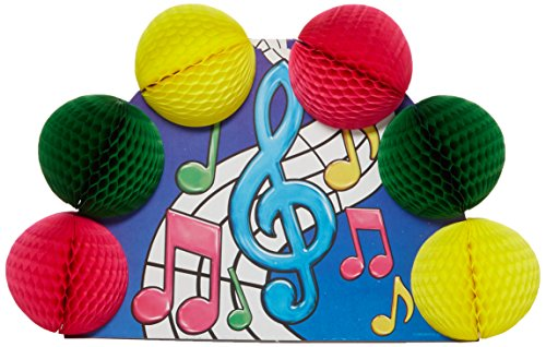 (Musical Notes Pop-Over Centerpiece Party Accessory (1 count))