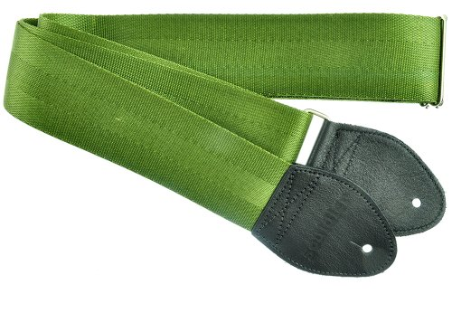 Souldier Custom GS0000OD04BK Recycled Seatbelt Electric Guit
