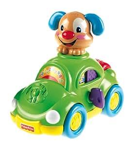 Mattel - Coche Perrito Aprendizaje Fisher Price 21-2146X