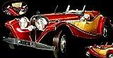 1935 Mercedes-Benz 500K Built Art Collection Model Kit