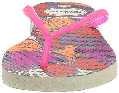 Havaianas Zehentrenner Mädchen/ Junge Slim Fashion Beige 0121