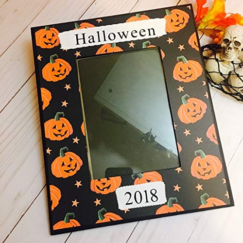 Halloween Frame Hocus pocus Halloween Decorations -Halloween picture frame- halloween decor -halloween 2018- take me trick or treating mommy -
