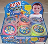 : 12 Tubs of Bouncing Foam Putty In Counter Display---Great Kid's Toy