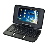 Sound Logic Android 2.3 7-Inch 2-in-1 Swivel Netbook and Tablet-in-one (72-5577)