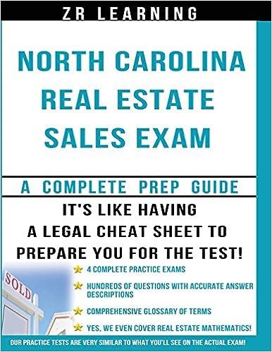 Read online North Carolina Real Estate Sales Exam Questions PDF