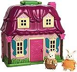 Li'l Woodzeez 6103M Countryside Cottage with Amelia & Elliot Hoppingood and Storybook