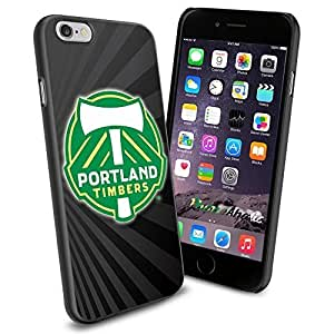 diy zhengSoccer MLS PORTLAND TIMBERS SOCCER CLUB FOOTBALL FC Logo , Cool iphone 5/5s Smartphone Case Cover Collector iphone TPU Rubber Case Black
