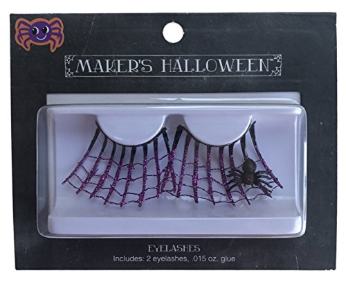 Makers Halloween Spider Wed Costume Eyelashes