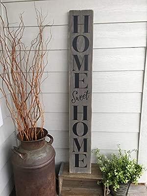 CELYCASY Home Sweet Home - Cartel de Madera con diseño de ...