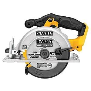 DEWALT 6-1/2-Inch 20V Max Circular Saw, Tool Only (DCS391B),Yellow