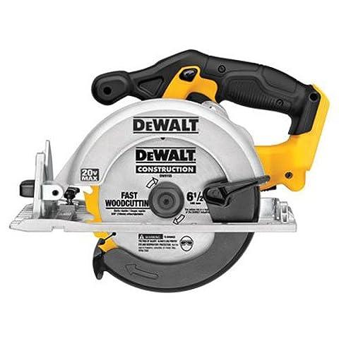 DEWALT DCS391B 20-Volt MAX Li-Ion Circular Saw, Tool Only (Dewalt 20 Volt Cordless Tools)