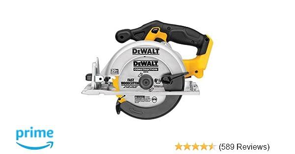 Dewalt dcs391b 20 volt max li ion circular saw tool only power dewalt dcs391b 20 volt max li ion circular saw tool only power circular saws amazon greentooth Images